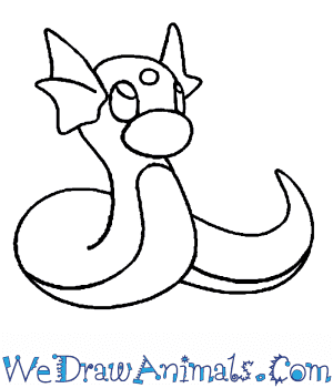 How to Draw  Dratini in 6 Easy Steps