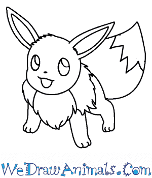 How to Draw  Eevee in 7 Easy Steps