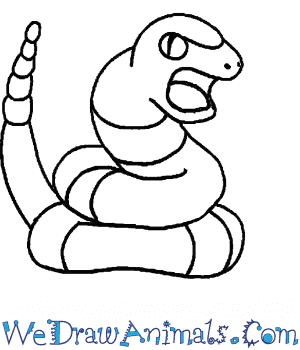 How to Draw  Ekans in 4 Easy Steps