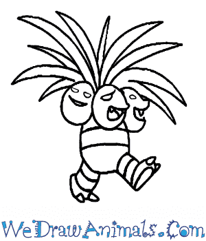 How to Draw  Exeggutor in 6 Easy Steps