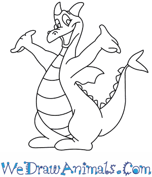 How to Draw  Figment From Disney in 9 Easy Steps