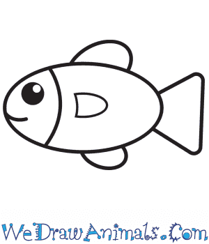 How to Draw a Fish For Kids in 6 Easy Steps