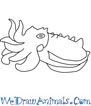 How to Draw a Flamboyant Cuttlefish in 6 Easy Steps