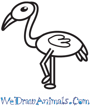 How to Draw a Flamingo For Kids in 8 Easy Steps