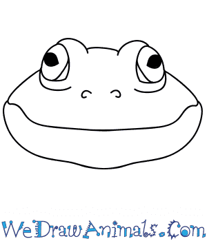 How to Draw a Frog Face in 6 Easy Steps