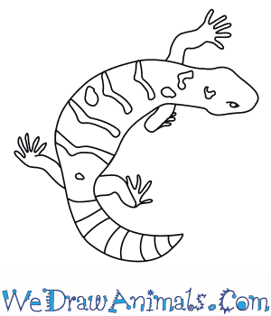 How to Draw a Gila Monster in 7 Easy Steps