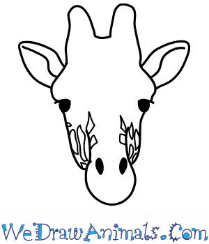 How to Draw a Giraffe Face in 8 Easy Steps