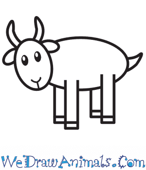 How to Draw a Goat For Kids in 7 Easy Steps