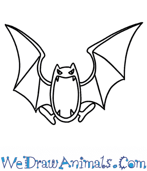 How to Draw  Golbat in 6 Easy Steps
