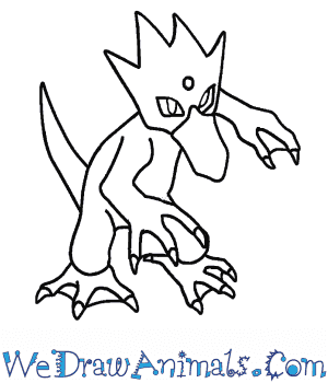 How to Draw  Golduck in 7 Easy Steps