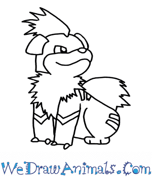 How to Draw  Growlithe in 7 Easy Steps