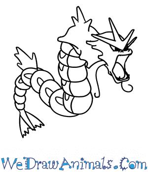 How to draw gyarados pokemon thecheapjerseys Gallery