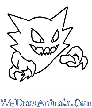 How to Draw  Haunter in 5 Easy Steps
