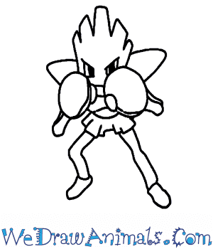 How to Draw  Hitmonchan in 7 Easy Steps