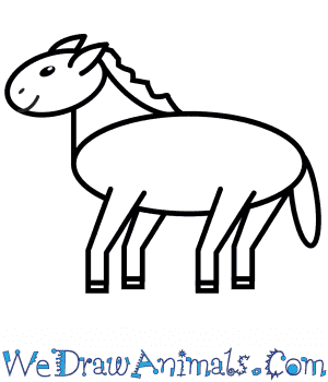 How to Draw a Horse For Kids in 9 Easy Steps