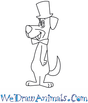 How to Draw  Huckleberry Hound in 7 Easy Steps