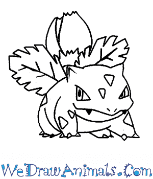 How to Draw  Ivysaur in 7 Easy Steps