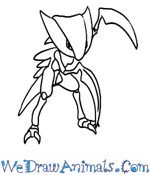 How to Draw  Kabutops in 6 Easy Steps