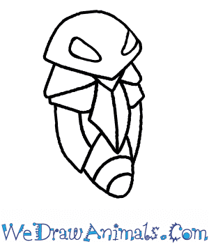How to Draw  Kakuna in 6 Easy Steps