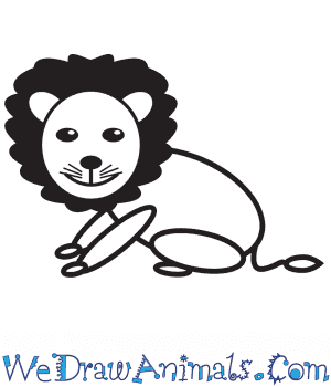 How to Draw a Lion For Kids in 9 Easy Steps