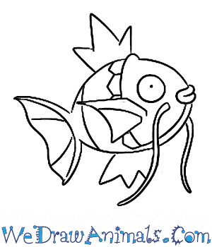 How to Draw  Magikarp in 7 Easy Steps