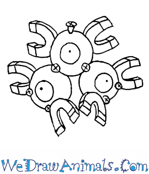 How to Draw  Magneton in 6 Easy Steps