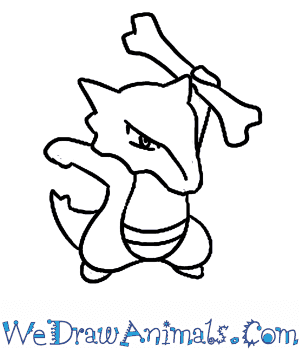 How to Draw  Marowak in 7 Easy Steps