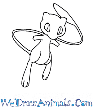 How to Draw  Mew in 7 Easy Steps