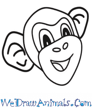 How to Draw a Monkey Head in 5 Easy Steps