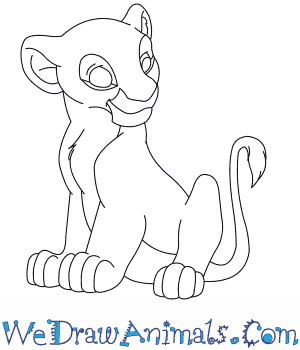 How to Draw  Nala From The Lion King in 8 Easy Steps