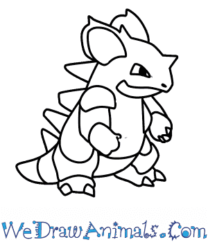 How to Draw  Nidoking in 7 Easy Steps