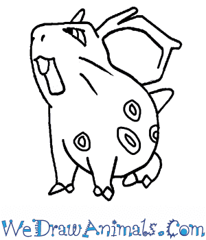 How to Draw  Nidoran Female in 7 Easy Steps
