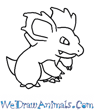 How to Draw  Nidorina in 7 Easy Steps