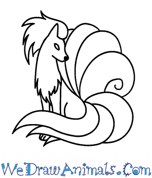 How to Draw  Ninetales in 5 Easy Steps