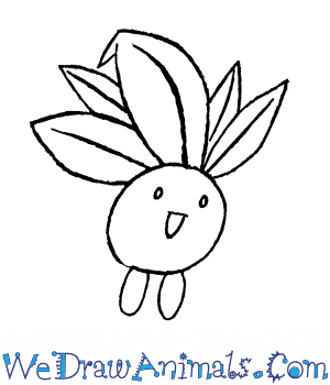 How to Draw  Oddish in 6 Easy Steps