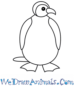 How to Draw a Penguin For Kids in 6 Easy Steps