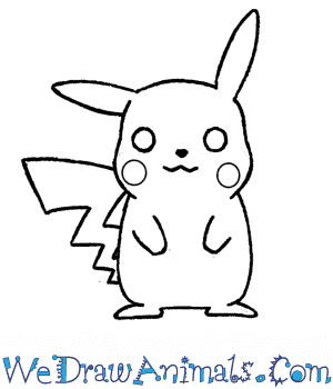 How to Draw  Pikachu in 7 Easy Steps