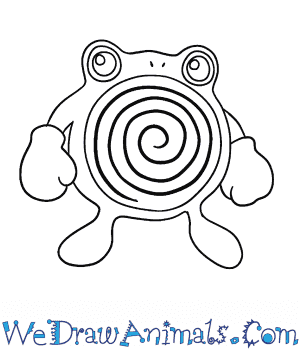 How to Draw  Poliwhirl in 6 Easy Steps