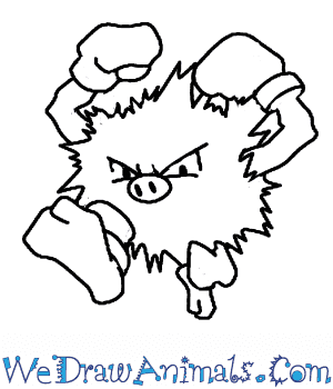 How to Draw  Primeape in 5 Easy Steps