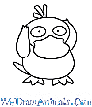 How to Draw  Psyduck in 7 Easy Steps