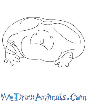 How to Draw a Purple Frog in 5 Easy Steps