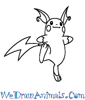 How to Draw  Raichu in 7 Easy Steps