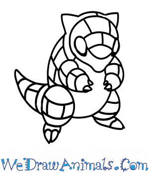 How to Draw  Sandshrew in 7 Easy Steps