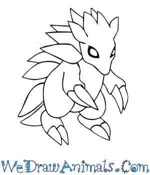 How to Draw  Sandslash in 6 Easy Steps
