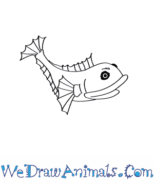 How to Draw a Sarcastic Fringehead in 5 Easy Steps