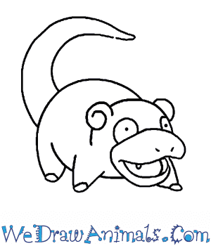 How to Draw  Slowpoke in 7 Easy Steps