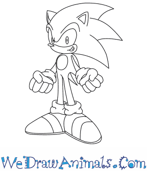 How to Draw  Sonic The Hedgehog in 7 Easy Steps