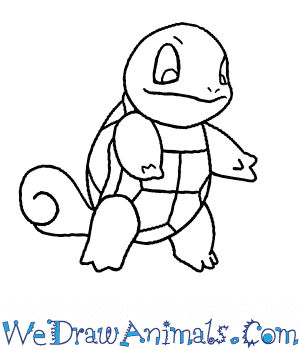 How to Draw  Squirtle in 7 Easy Steps