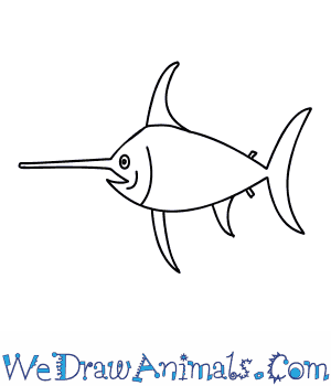 How to Draw a Swordfish in 6 Easy Steps