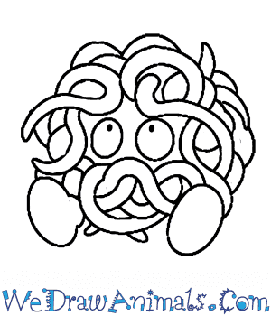 How to Draw  Tangela in 6 Easy Steps